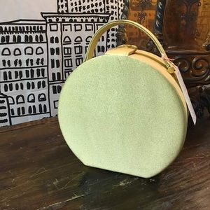 Handbags - Vintage Gold Fabric Purse